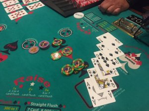 Table Games Two 6 Card Flushes On High Card Flush Vegas Message